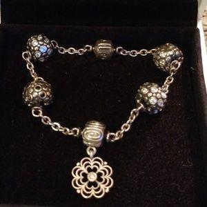Pandora clip bracelet